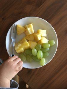 2歳差育児の晩御飯