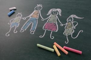 2歳差育児中の家族