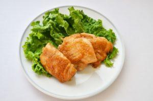 鶏肉の晩御飯